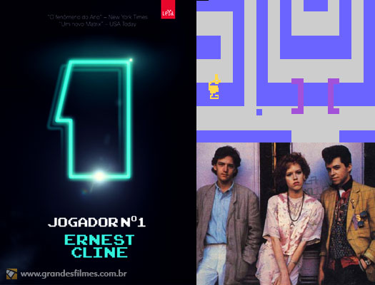 Jogador Nmero 1 brinca com o mundo pop dos anos 80