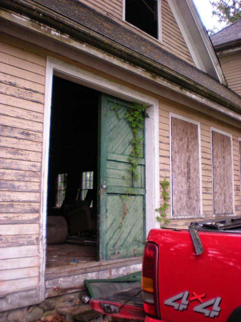 old door for garden