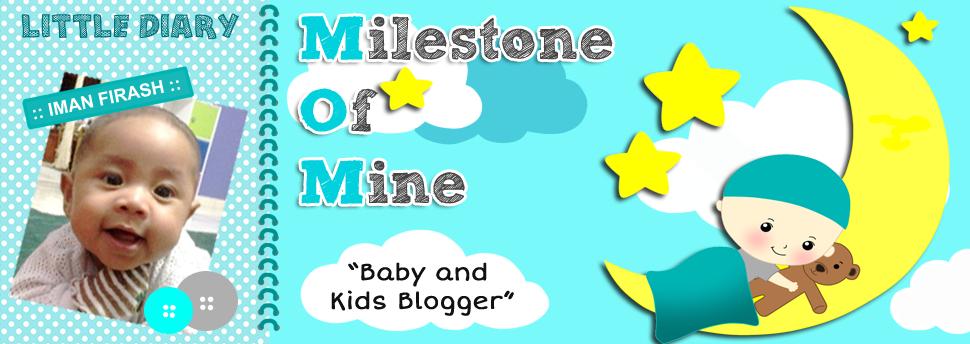blog milestone of mine MOM