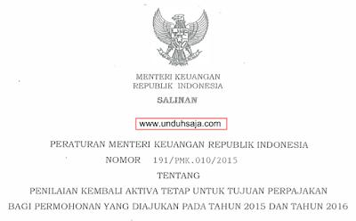 PMK 191 Tahun 2015