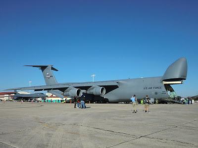 Randolph Air Force Base 2011 Air Show: C-5 Galaxy