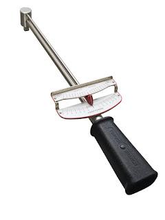 Beam style torque wrench