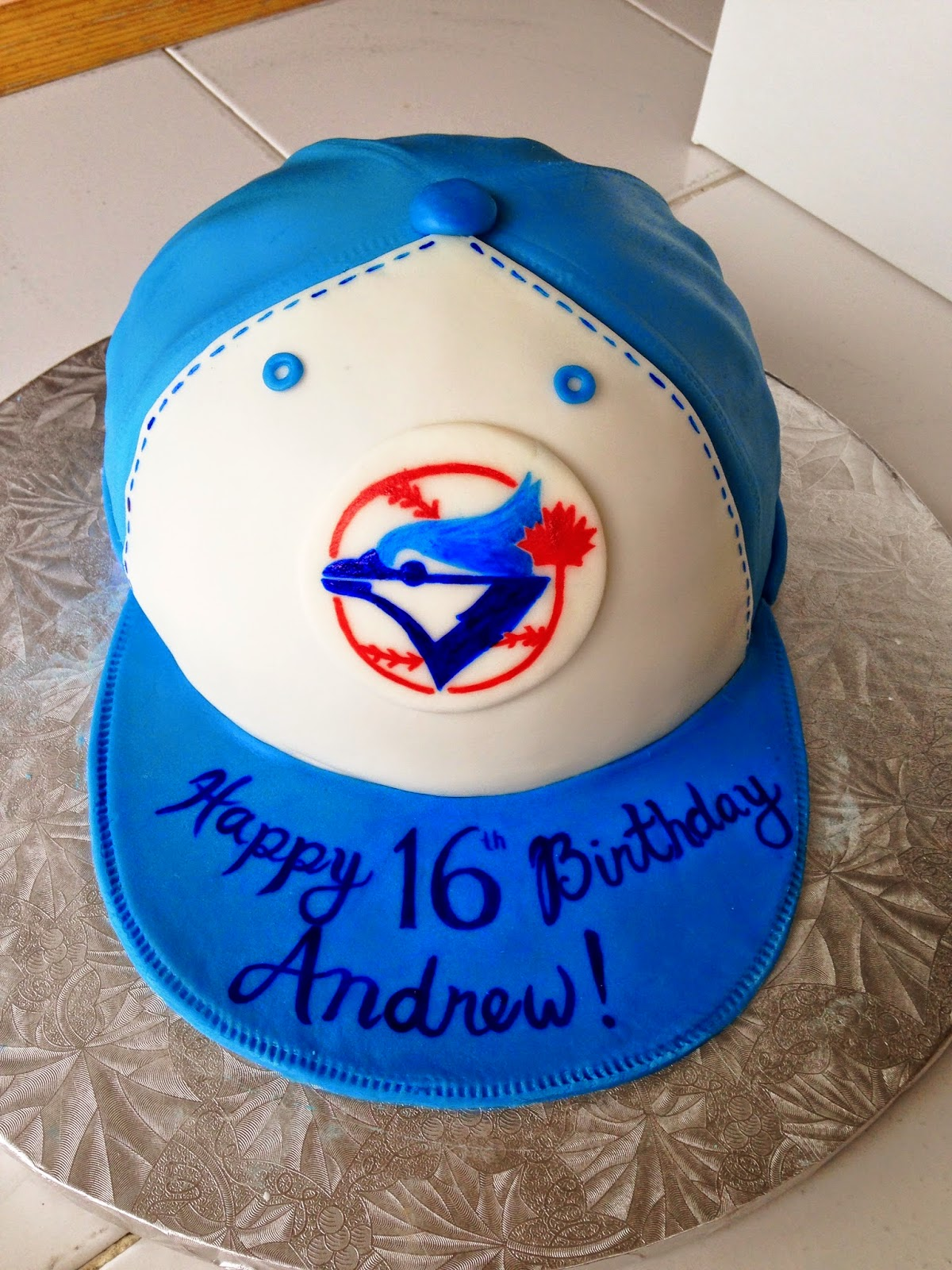 Blue Jays Cake Images : Cake for College: Wrapping Up: Tiffany Box, Wedding Cake ...