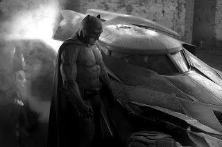 First photo of Ben Affleck as Batman with new Batmobile
