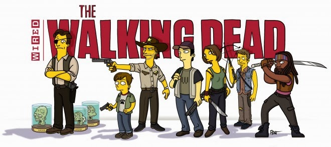 The Walking Dead a Springfield