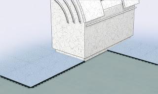 suelo tecnico conductivo de forbo colorex sd/ec, ideal para salas blancas o hospitales