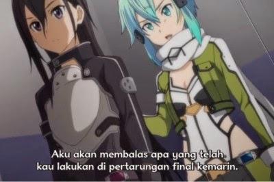 Sword Art Online Season 2 Episode 8 Subtitle Indonesia