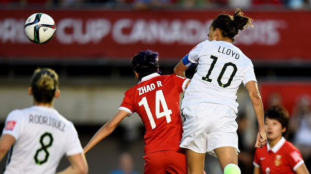 Highlights China 0 – 1 USA (Women World Cup)