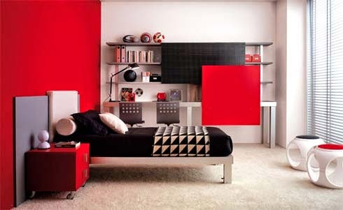 Great Bedroom Color Decoration Design