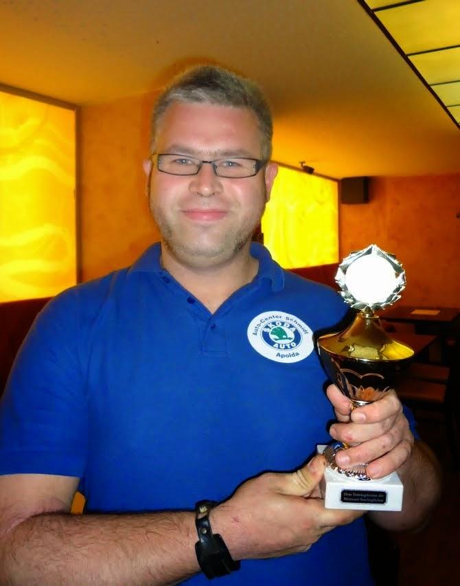 Sieger des Sondertrainings Sept. 2014