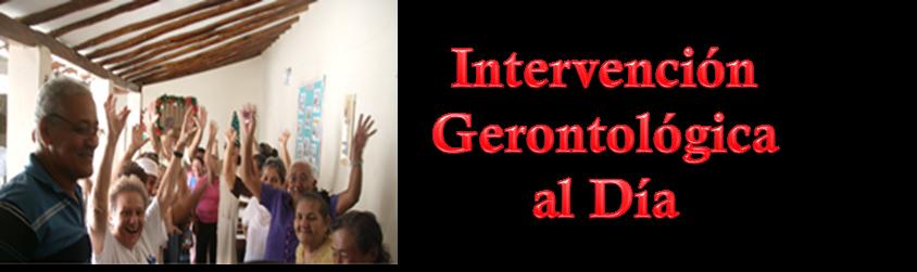 Intervención Gerontológica al Día