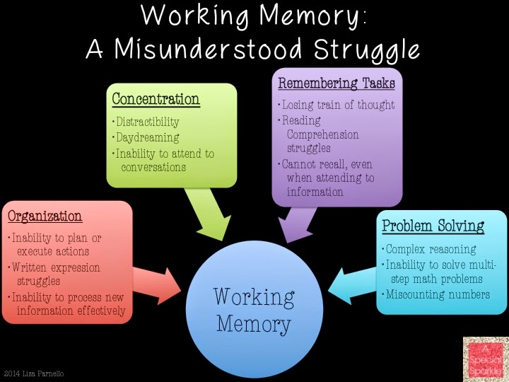 Teachers Misunderstand Dyslexia >> A Special Sparkle Misunderstanding Functions Of Working Memory