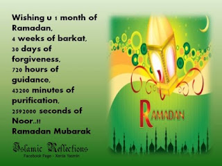 month of ramadan quote wallpaper