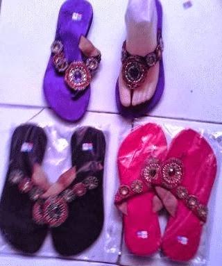 sandal cantik apr04 warna warni
