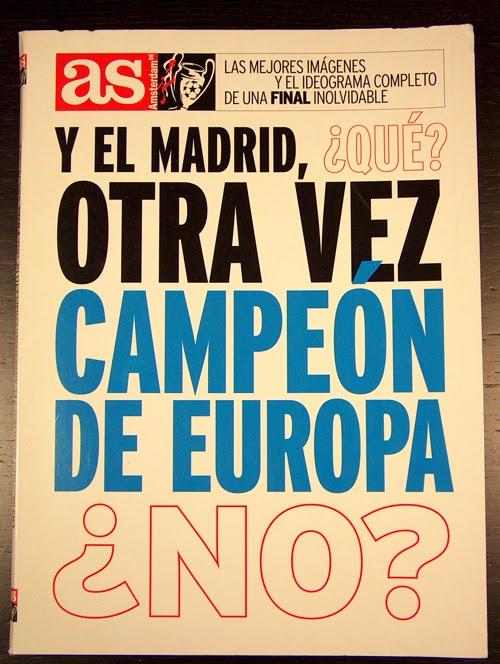 ¿Y el Madrid qué, otra vez Campeón de Europa? Champions a Champions.