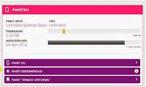 Bukti Paket Internet AxisPro Unlimited