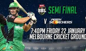 Big Bash 2016 semi final and final schedule