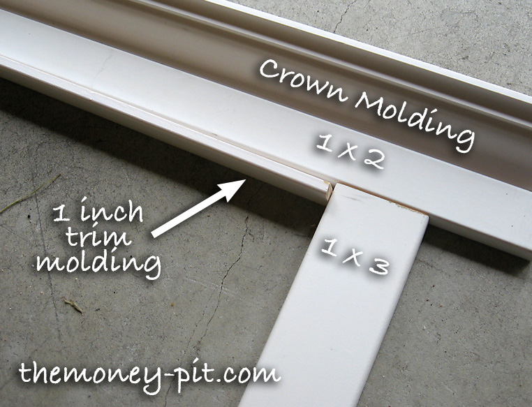 Framing Bathroom Mirrors With Crown Molding framing a mirror without miter cuts! - the kim six fix