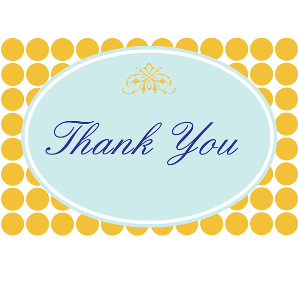 thank you card template printable. A special thank you to all my