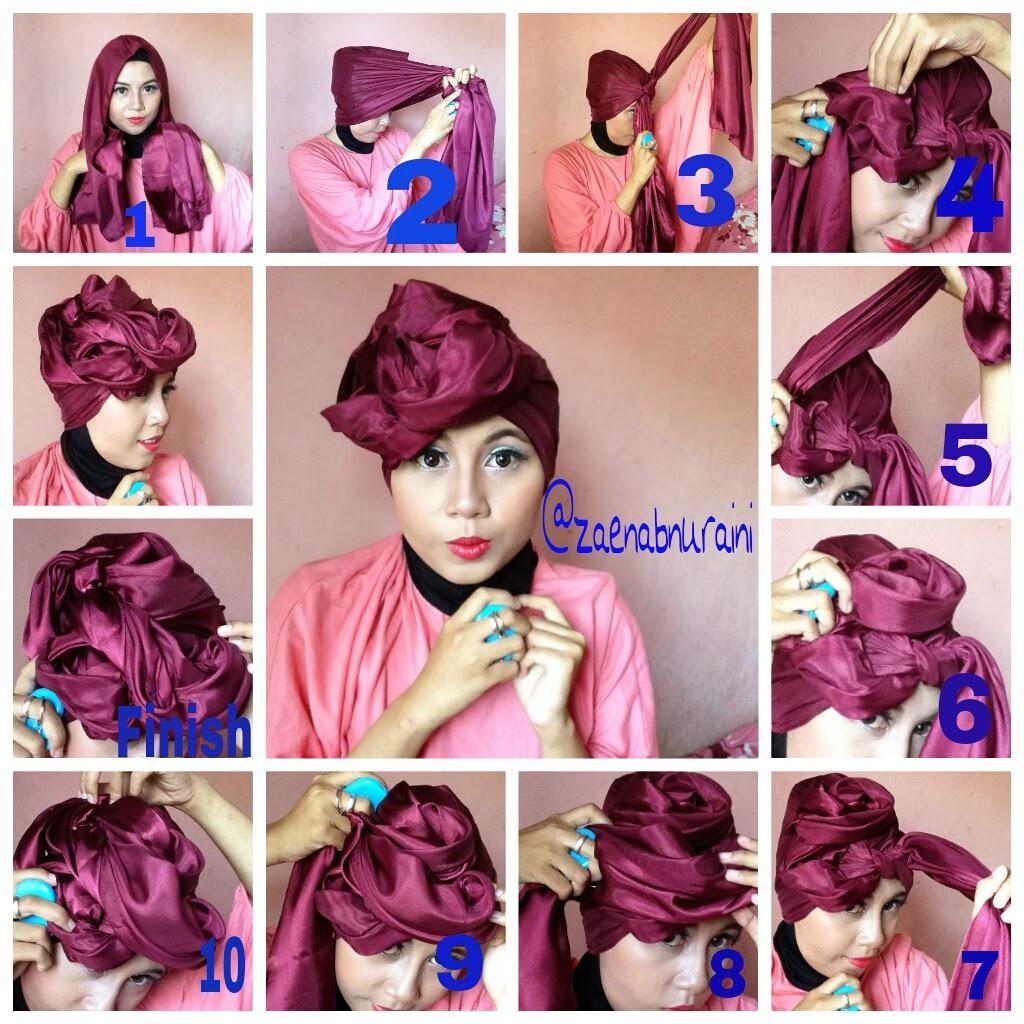23 Gambar Terupdate Tutorial Hijab Pashmina Ootd Untuk Kalian