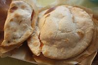 Empanadilla de queso de cabra
