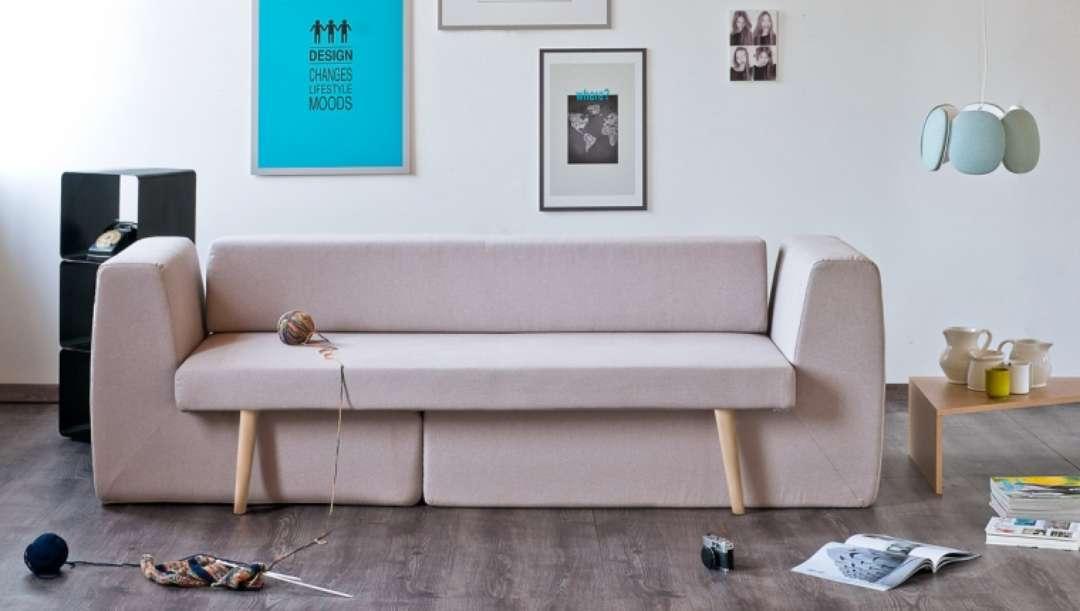 O melhor sof pra salas pequenas ricota n o derrete for Sofas modernos para espacios pequenos