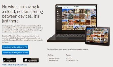 Aplikasi BBM untuk PC Blackberry Blend mendapatkan pembaruan