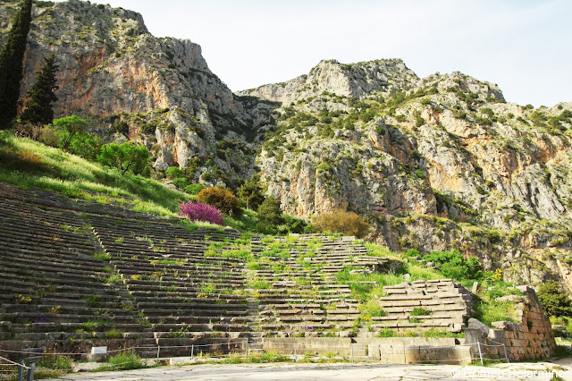 Delphi Theatre Central Greece Attractions