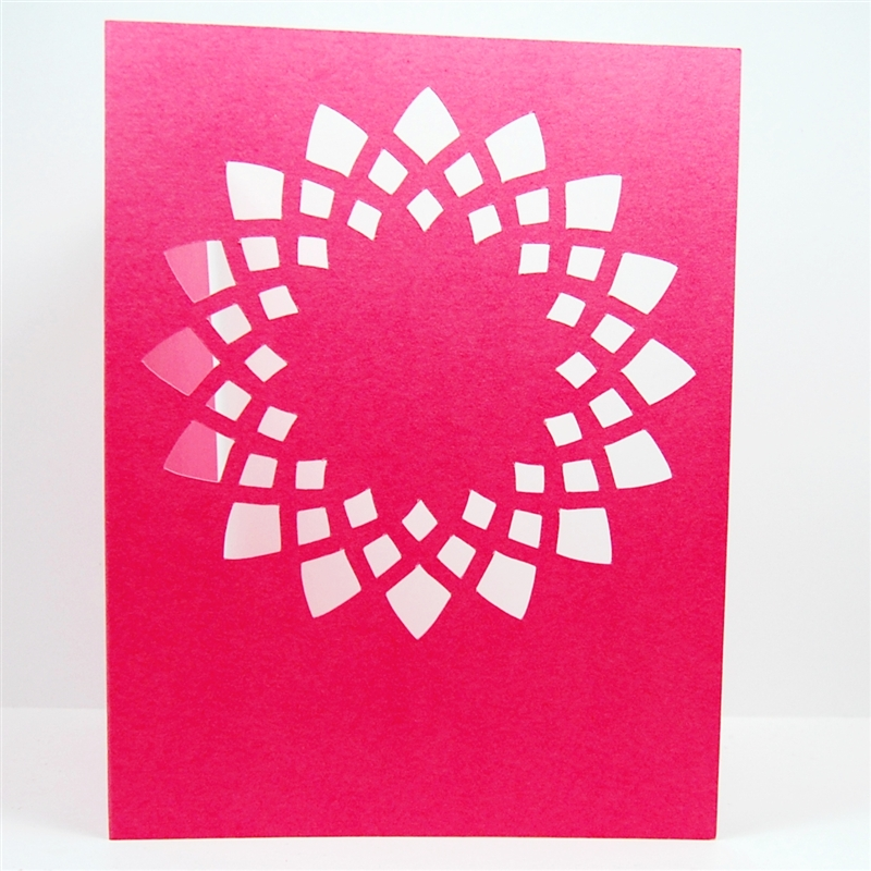 Birthday Card from a Prototype Cut
