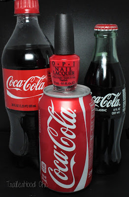 opi coca cola red review swatches coke
