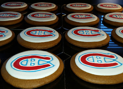 Montreal Canadiens cookies