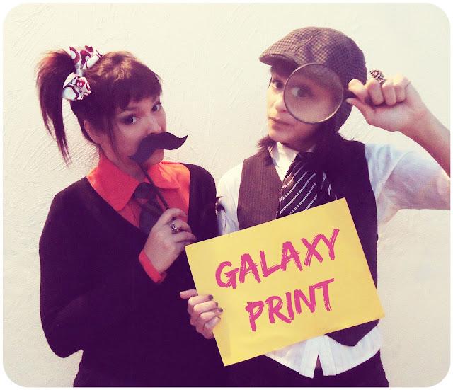 Investigando Moda - Galaxy Print