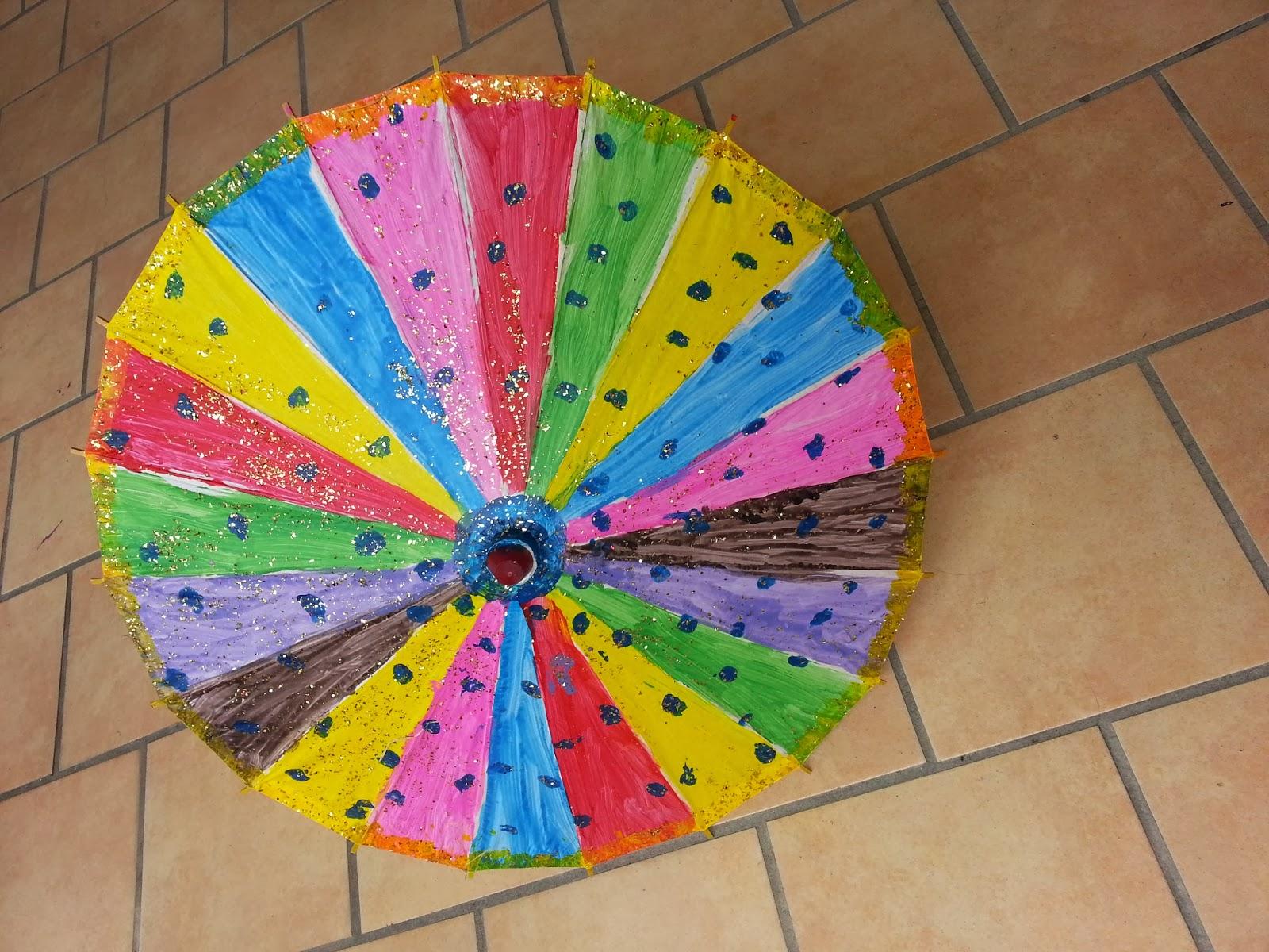 life u0027s little treasures kids activity umbrella painting