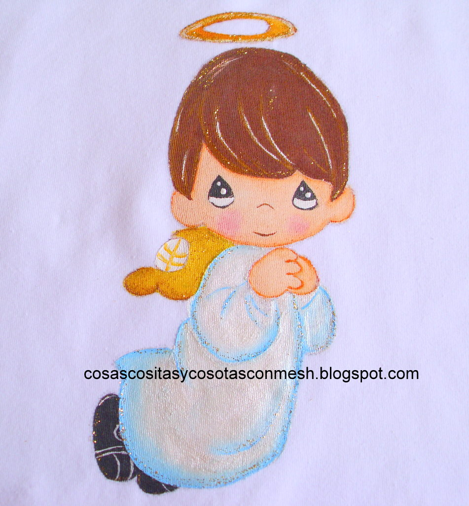 Manualidades ángeles pintados ~ cositasconmesh