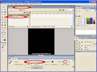 Gambar cara membuat file baru DP BBM cinta