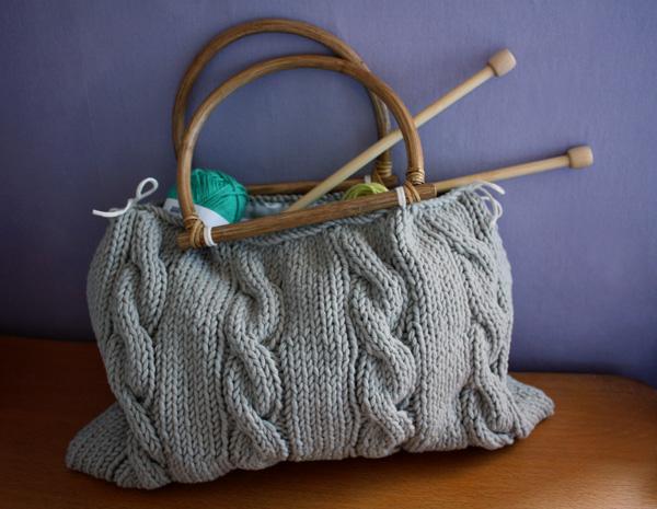 un sac 224 tricot en tricot pour mes jolis m 244 mes mais pas que