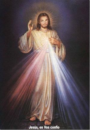 JESUS DE LA DIVINA MISERICORDIA