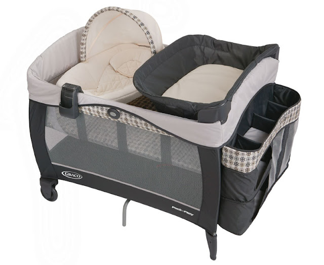 Bassinet And Changing Table Combo3
