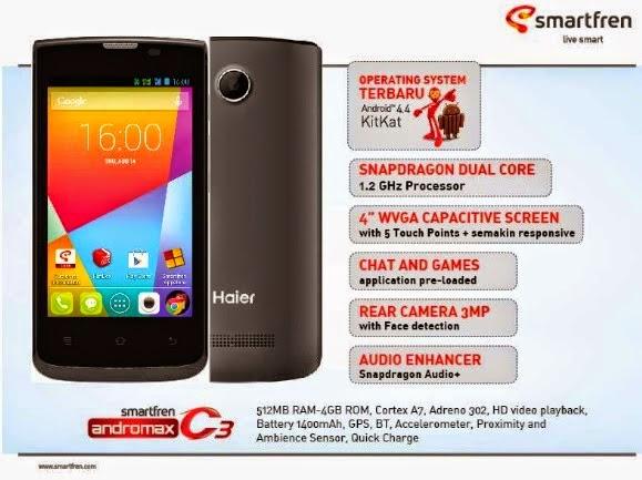 Harga, Spesifikasi 7 Smartphone Android Kitkat Murah dibawah 1 juta ...