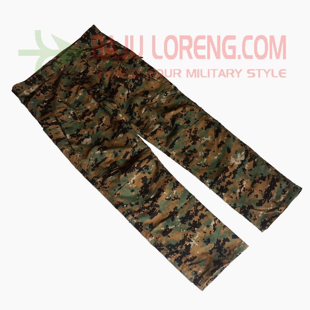 pant, long pant, celana, panjang, PDL, Loreng, Doreng, US Army, Woodland, Marpat, Helicon, Camo, Murah, Dijual