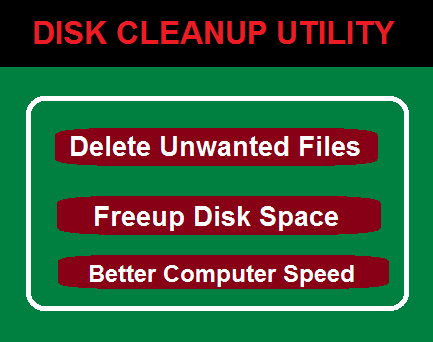How to Delete Unwanted files using Disk Cleanup Utility in Windows