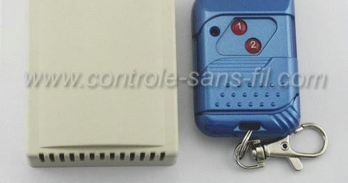Controle sans fil blogspot comment utiliser kit for Radio pour ouvrir porte