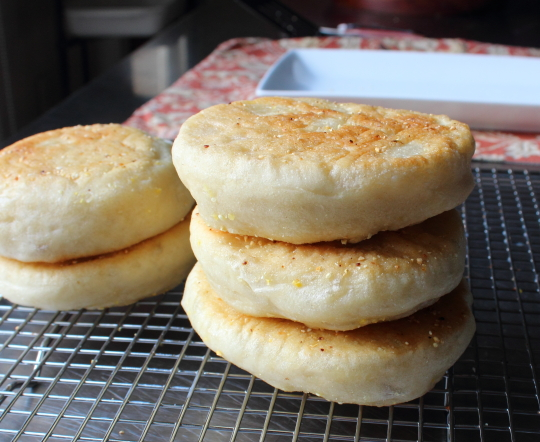 Food wishes video recipes easy english muffins a model of easy english muffins a model of buttery deliciousness forumfinder Choice Image