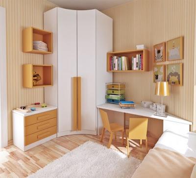 modern ic mekan dizayn Küçük Çocuk Odalarına Pratik Çözüm Mobilya Tasarımları