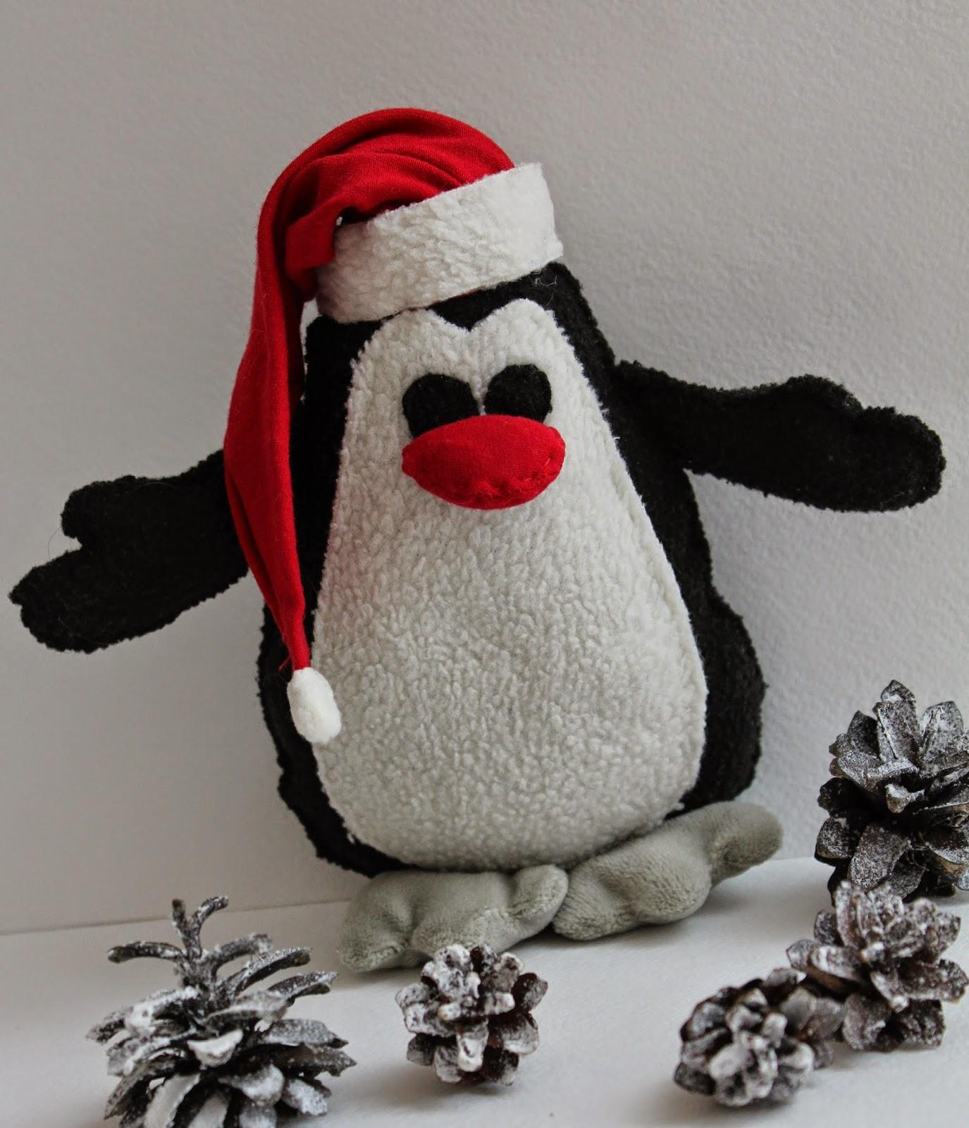 пингвин из флиса