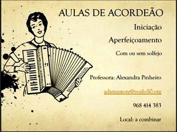 Queres aprender a tocar acordeão