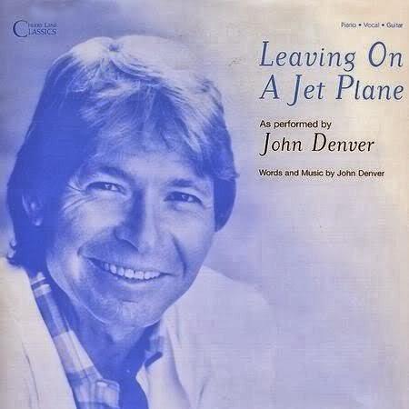 I leaving on jet plane lyrics