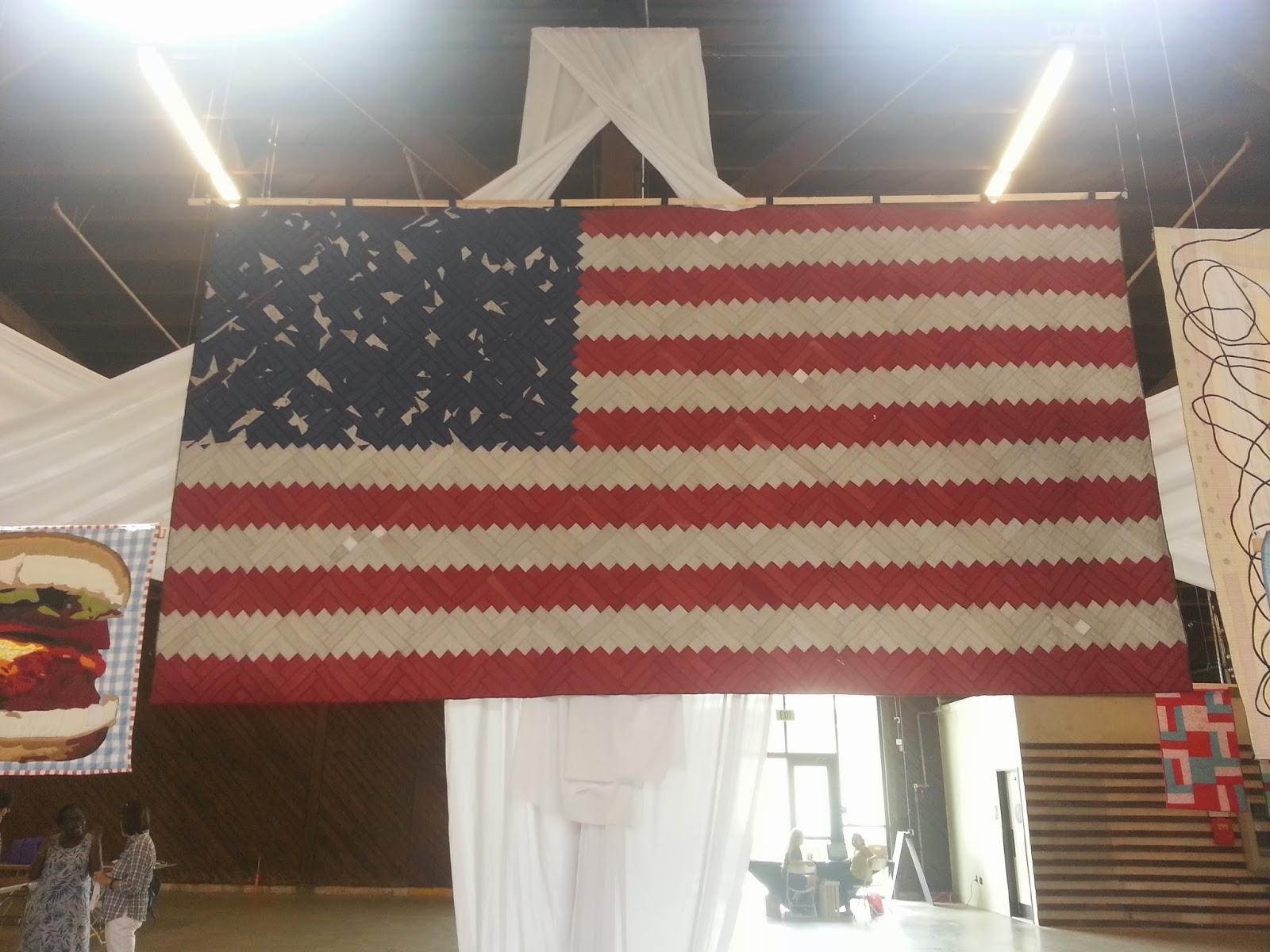 American Flag by Luke Haynes