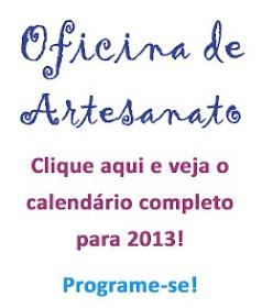 Calendário de Oficinas 2013
