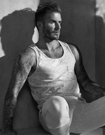 David Beckham Bodywear para H&M otoño invierno 2015-2016